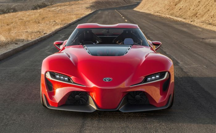 Led Headlights For 330bhp Toyota Supra Revealed