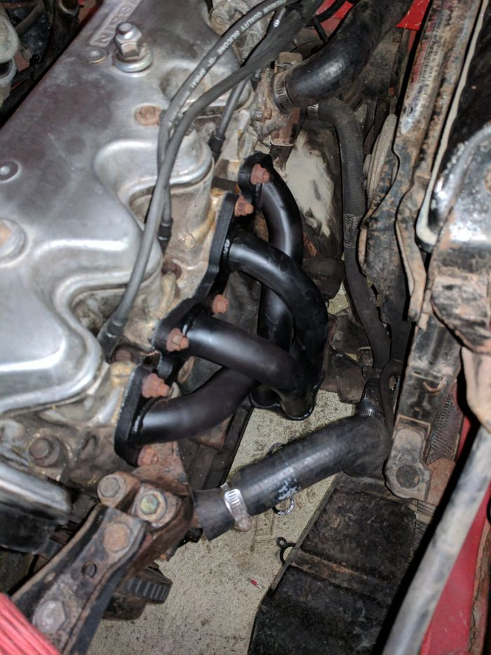 Project Pulsar - fitting the exhaust headers