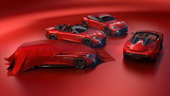 Aston Martin Announces Two More Zagato Versions of the Vanquish