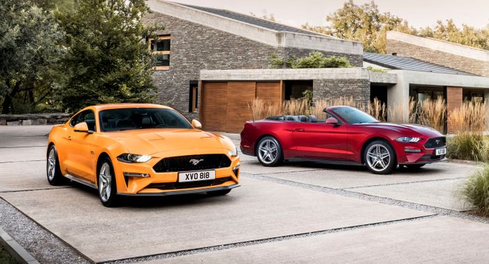 Ford hitting Frankfurt with Euro-spec 2018 Mustang, EcoSport and Tourneo Custom