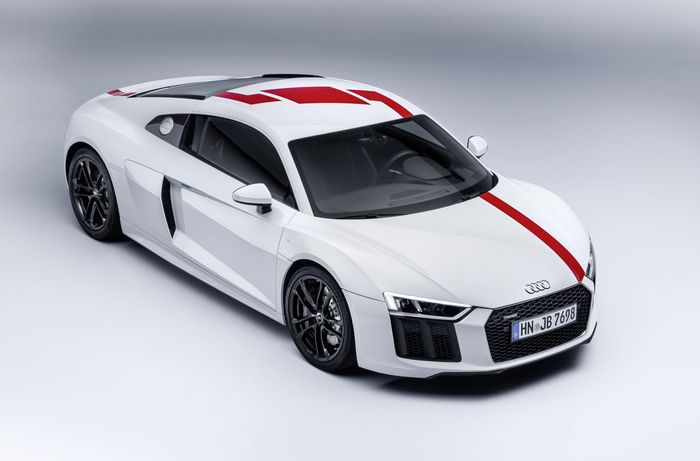 Audi R8 V10 RWS revealed as limited rear-wheel-drive version
