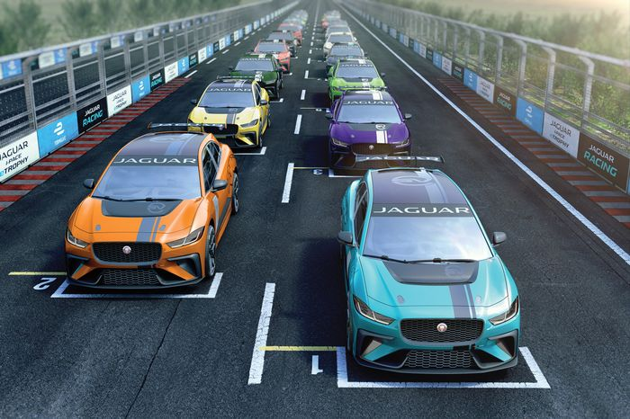 Jaguar i-Pace race series announced