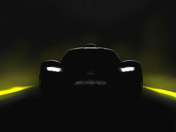 Mercedes-AMG Teases Project One Hypercar