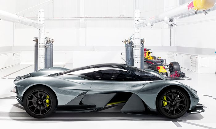 Aston Martin Valkyrie AMR Pro track car revealed