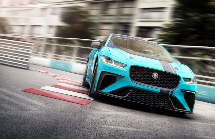 Jaguar Introduces All-Electric I-Pace Formula E Support Racing Series