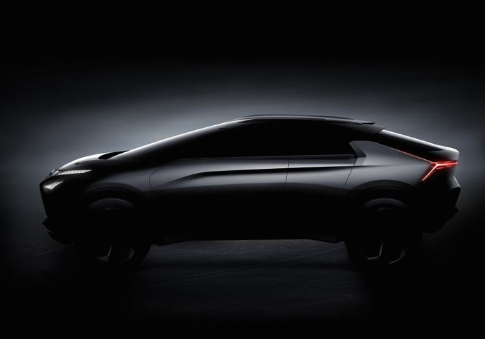 Mitsubishi drops another teaser of upcoming e-Evolution concept