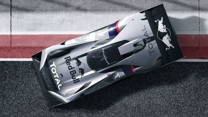 New Peugeot virtual concept unleashed on GT Sport