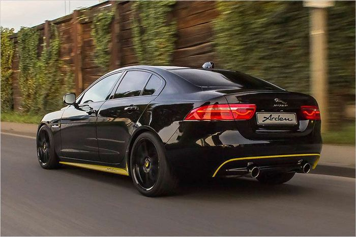 German Tuning Company Arden Has Modified The Jaguar XE