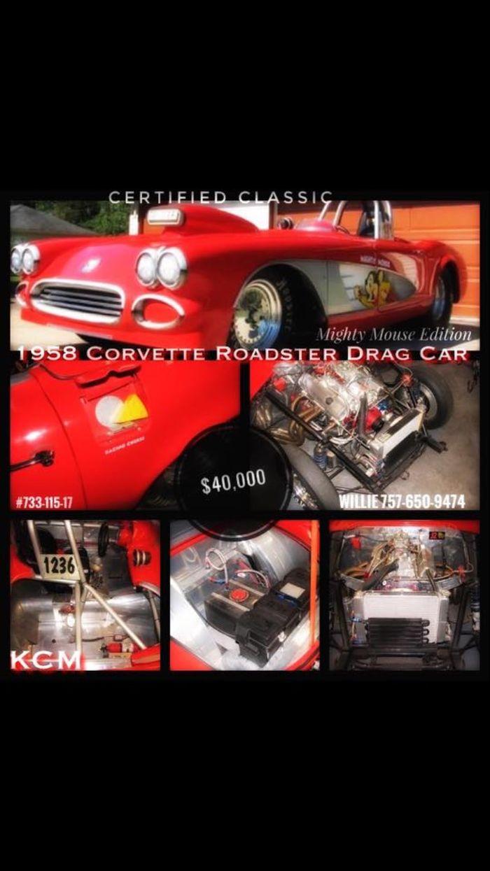 1958 Corvette Drag Car -