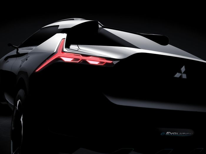 The Mitsubishi e-Evolution Concept Has Three Motors And An 'AI System'