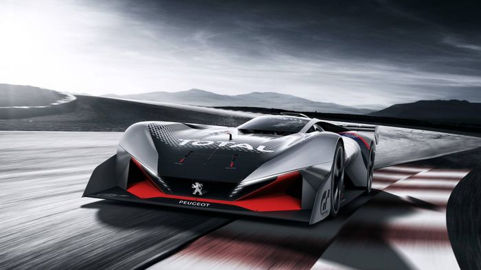 Peugeot reveals L750 R Hybrid racecar for