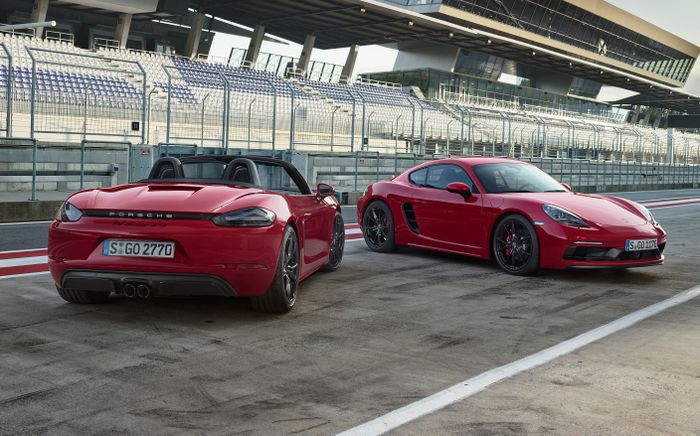 Porsche 718 Boxster and Cayman GTS: Here They Are