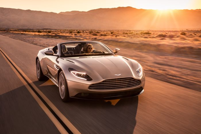 New Aston Martin DB11 Volante convertible sports GT revealed