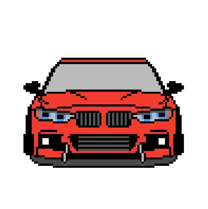 Pixel Art F30 335i Pixelart