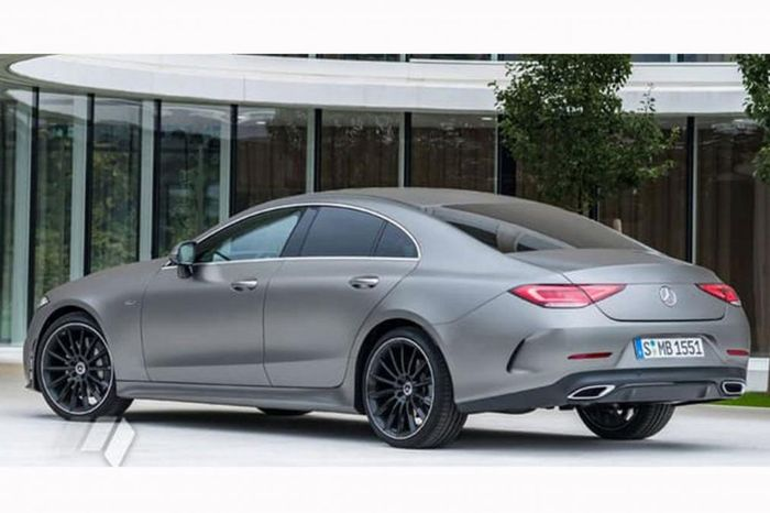 Yes, This Really Is The Leaked 2018 Mercedes-Benz CLS
