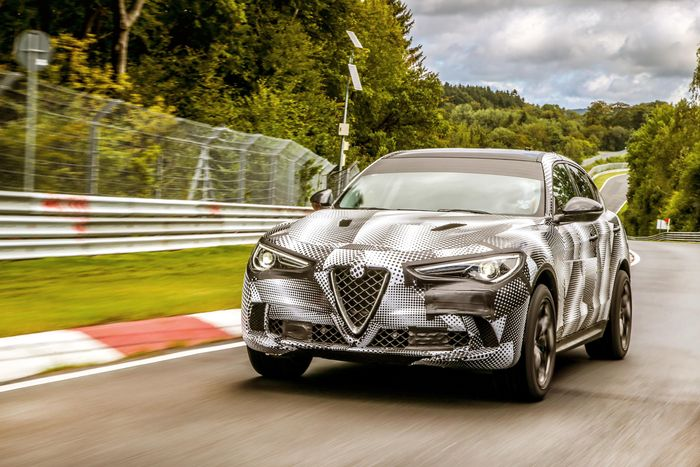 Alfa Romeo Quadrifoglio performance stats revealed ahead of summer 2018 release date