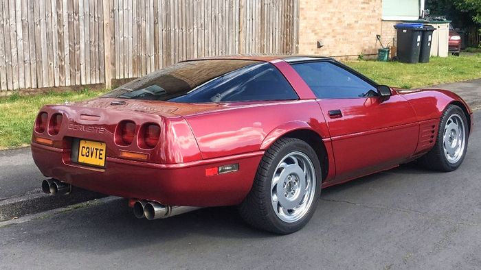 This 25-Year-Old Corvette Is An Affordable Slice Of American