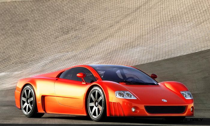 Evolutive Concepts The Volkswagen W12 Concepts