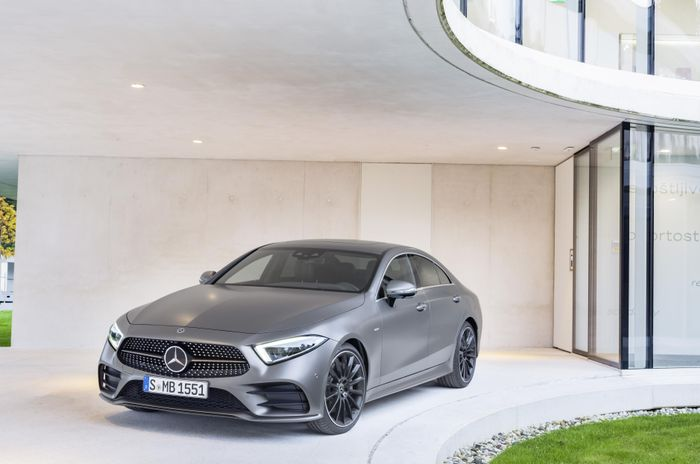 LA Auto Show: 2018 Mercedes-Benz CLS Breaks Cover
