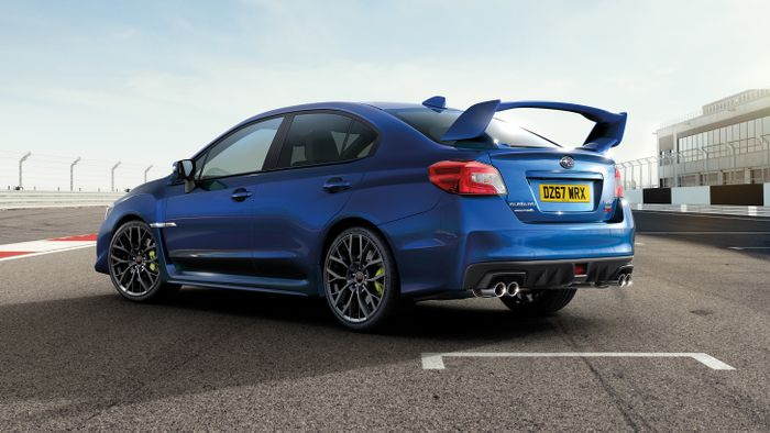 Subaru WRX STI Final Edition is last of its kind