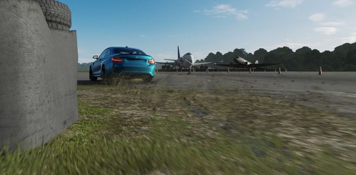 BMW M2 Let Loose At The Top Gear Test Track On Forza Motorsport 7