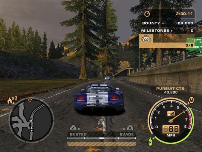 Need for Speed: Most Wanted (2005) is overrated