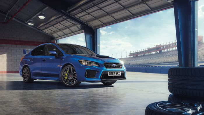 Final Edition signals the end for WRX STI