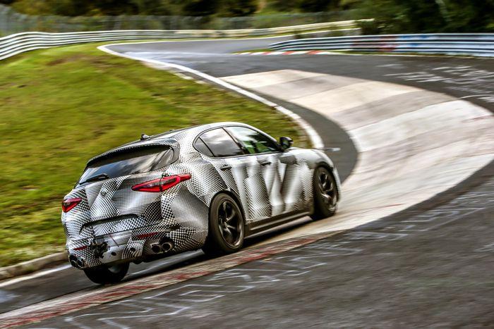 Alfa Romeo Stelvio Quadrifoglio is coming to NZ