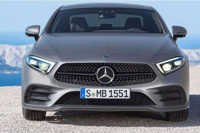 Mercedes CLS teased ahead of LA debut