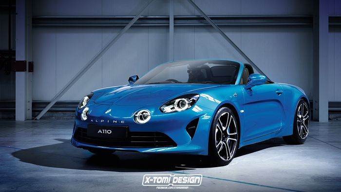 don t expect a convertible alpine a110 any time soon. Black Bedroom Furniture Sets. Home Design Ideas