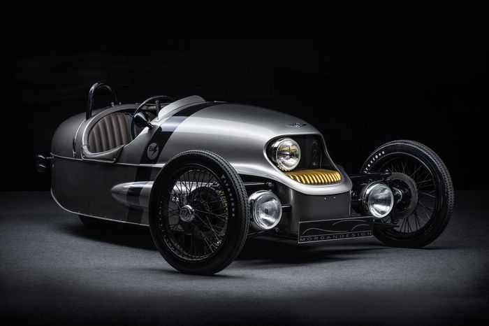 The electric Morgan EV3 will be built next year