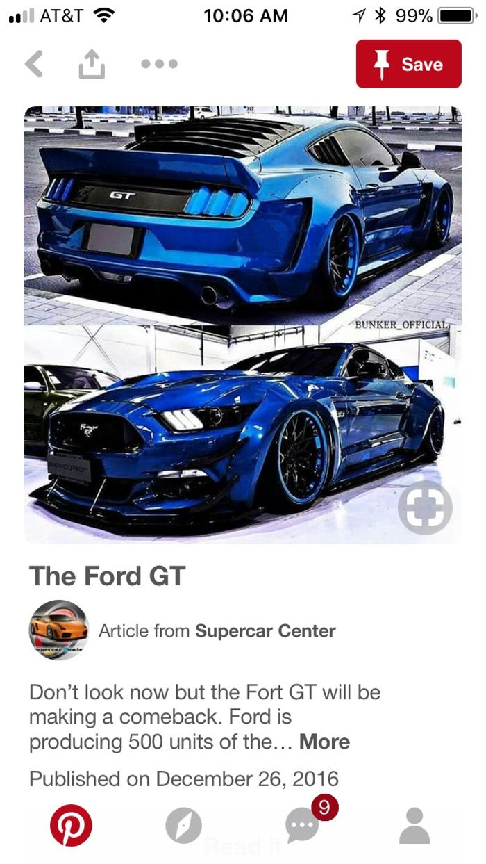 Its The Ford Gt