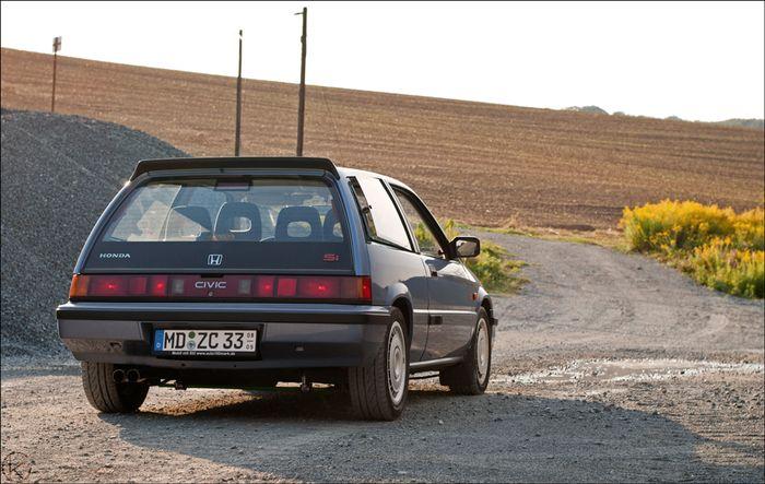 1987 Honda Civic Browntop Hatch