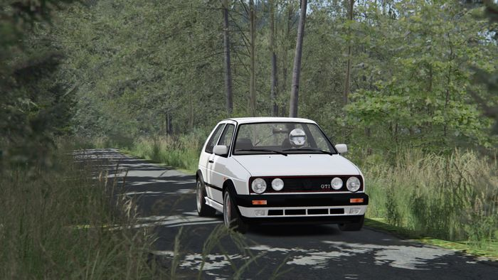 Found this nice mk2 Golf mod for Assetto Corsa