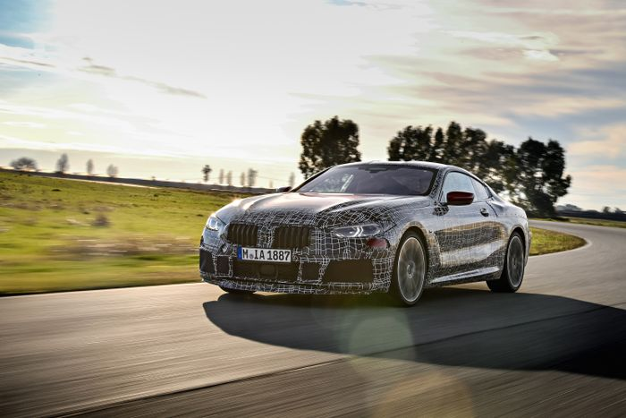 BMW 8 Series undergoes endurance testing phase