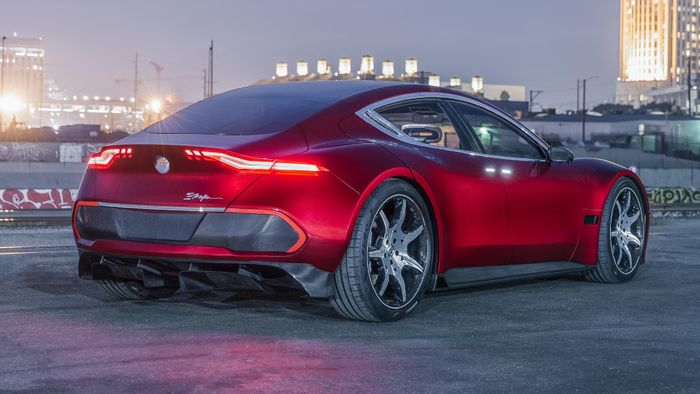 Meet the Tesla-challenging 161mph Fisker EMotion electric and self-driving vehicle