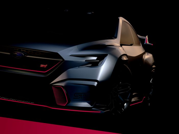 This Is What The New Subaru WRX STI Will Look Like