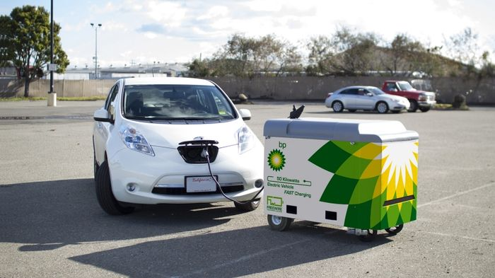 EV chargers are coming to BP petrol stations this year