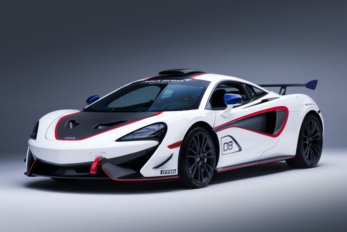 McLaren MSO X cars are ready for road or track