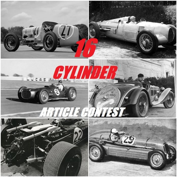 Sweet Sixteen - 16 Cylinder Article Contest