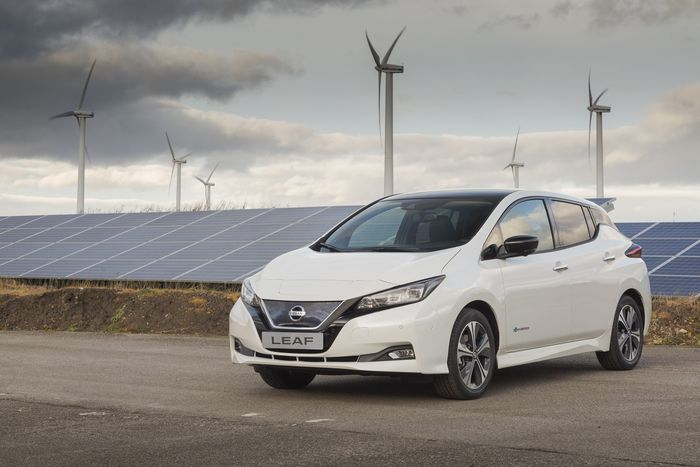 United Kingdom pricing revealed for new 2018 Nissan Leaf