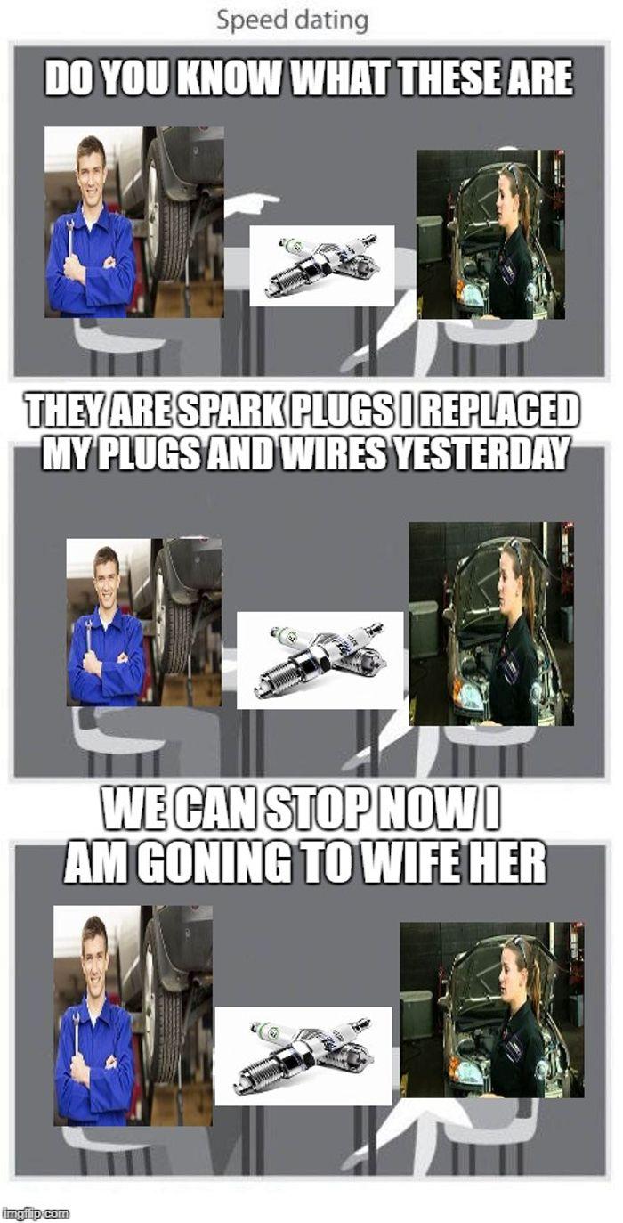 Speed dating næste meme