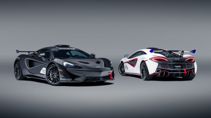 McLaren 570S MSO X models revealed with GT4 racer influence