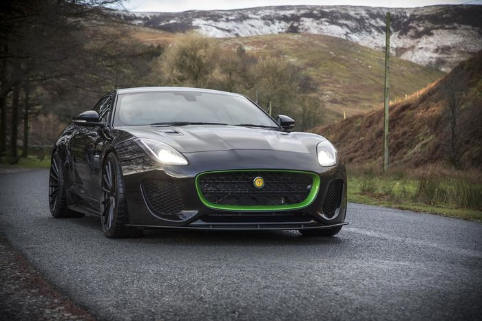 New 208mph Lister Thunder sports auto revealed with Jaguar F-Type origins