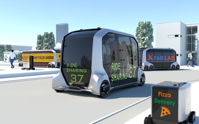 Toyota brings the store to you with self-driving concept vehicle