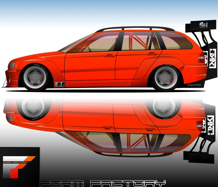 Vector art, prints, draw your car etc...