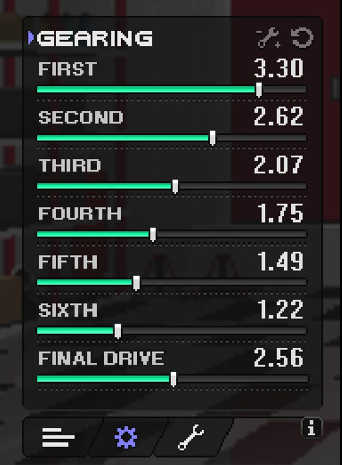 pixel car racer best tune