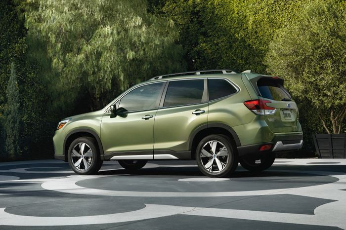 The 2019 Subaru Forester Blends Old School Boxer Attitude With