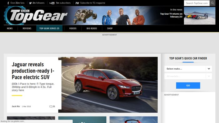 Cool Car News Websites - Cool car websites