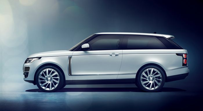 WOMPWOMP: Land Rover AXES The Range Rover SV Coupe